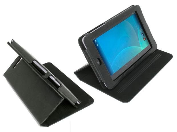 Folio case custodia per tablet asus nexus 7 nero electromaniaco
