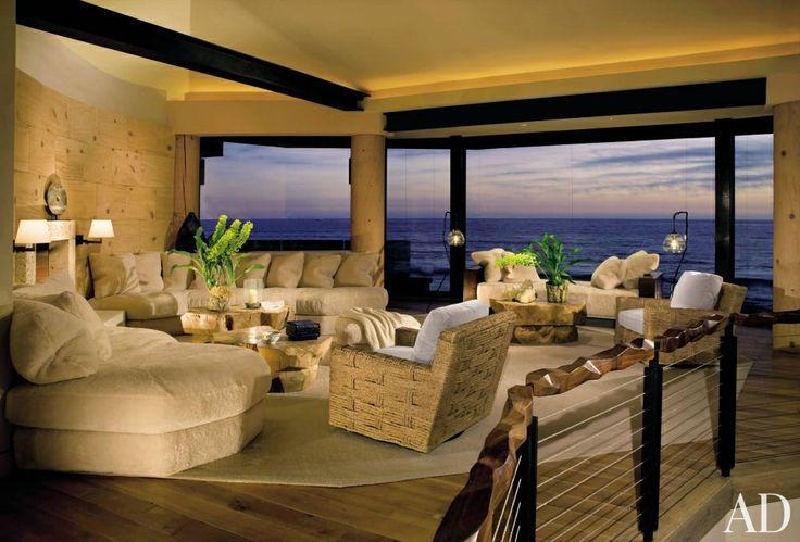 Beach Living Room By London Boone Dream Home Pinterest