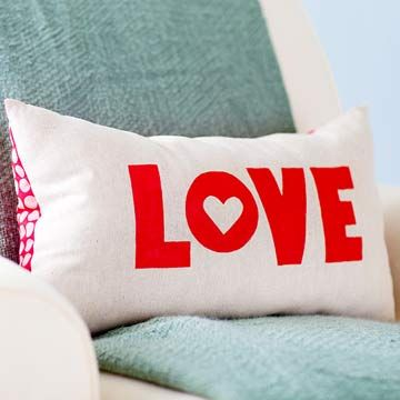 valentine's day pillows for him