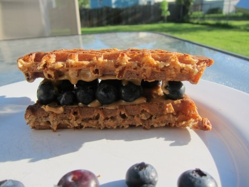 ... power waffle with sun dried tomatoes van s power grains waffles