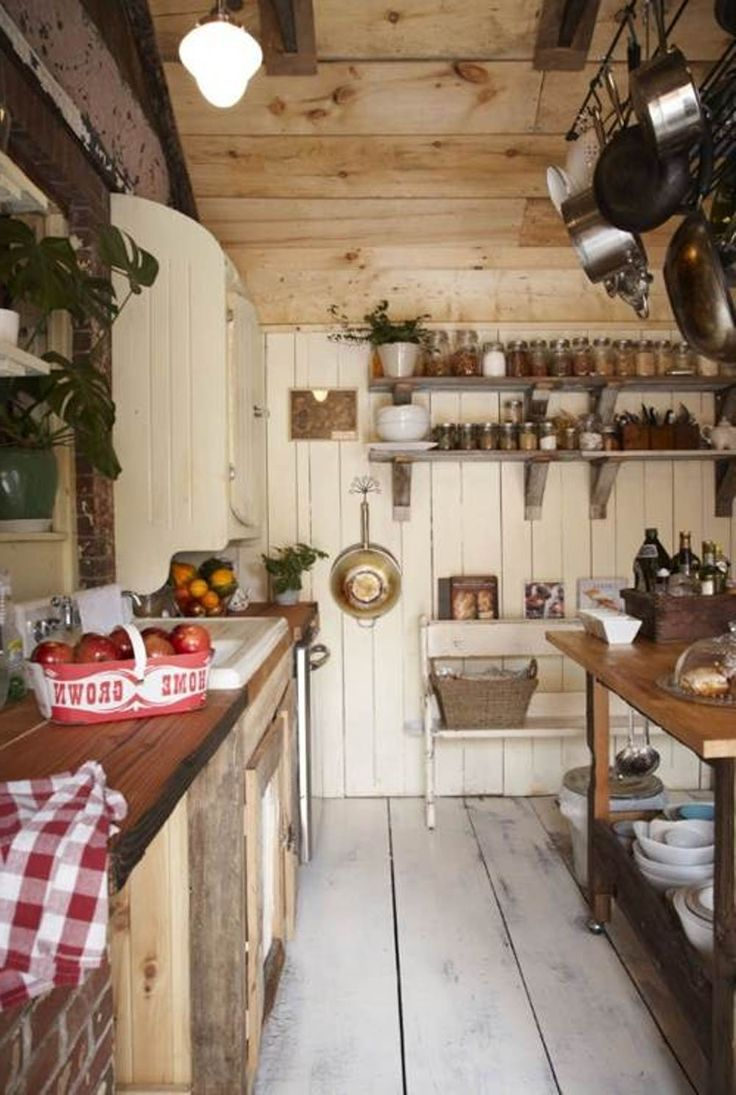 Country Galley Kitchen Country Home Pinterest