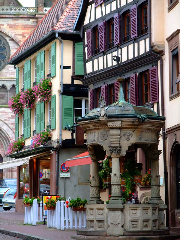 Obernai France  City pictures : Obernai, Alsace | France | Pinterest