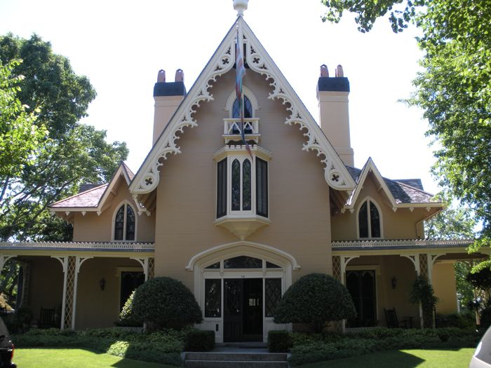 Gothic revival for the home pinterest for Gothic revival house