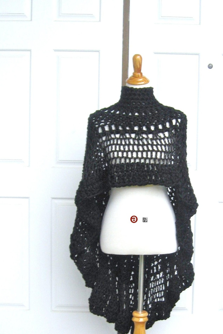 HIPPIE PONCHO Fashion,Vest, Boho, Crochet, Chic, Women, Clothing
