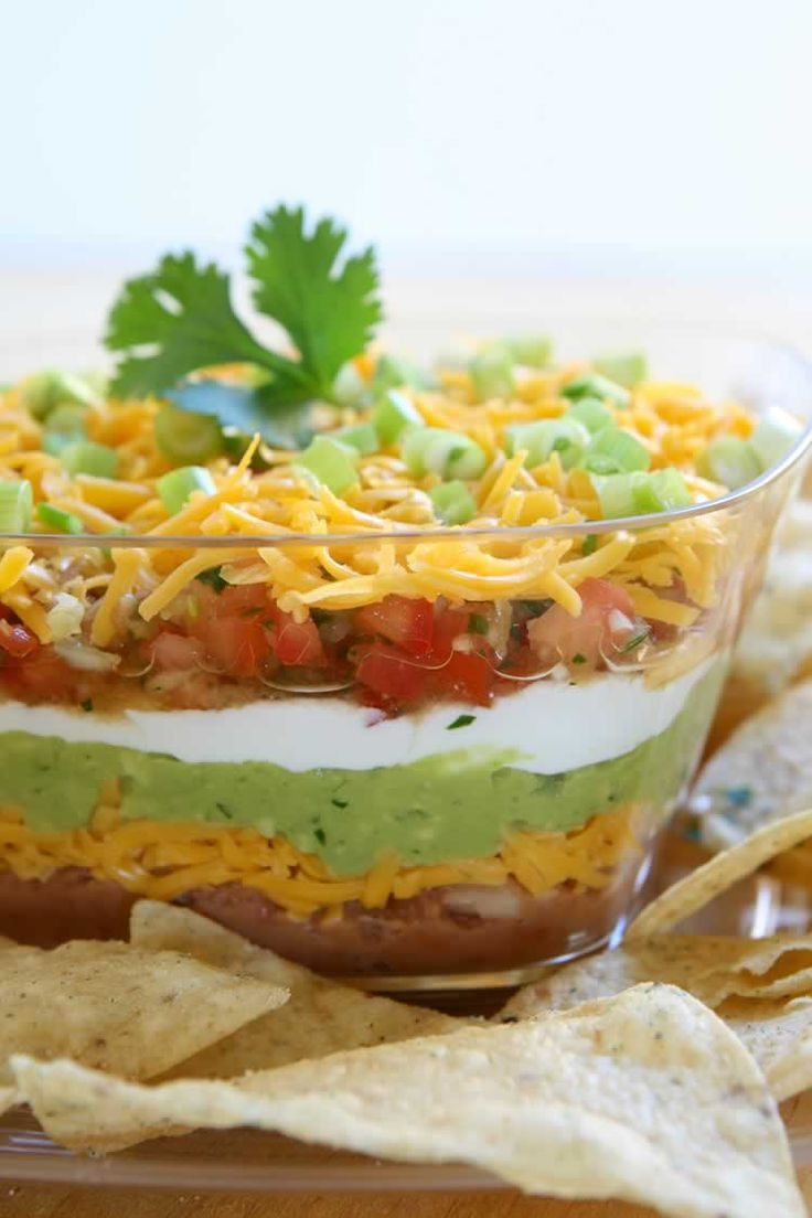 Layer-Dip - Recipe is in a different language but pic looks easy ...