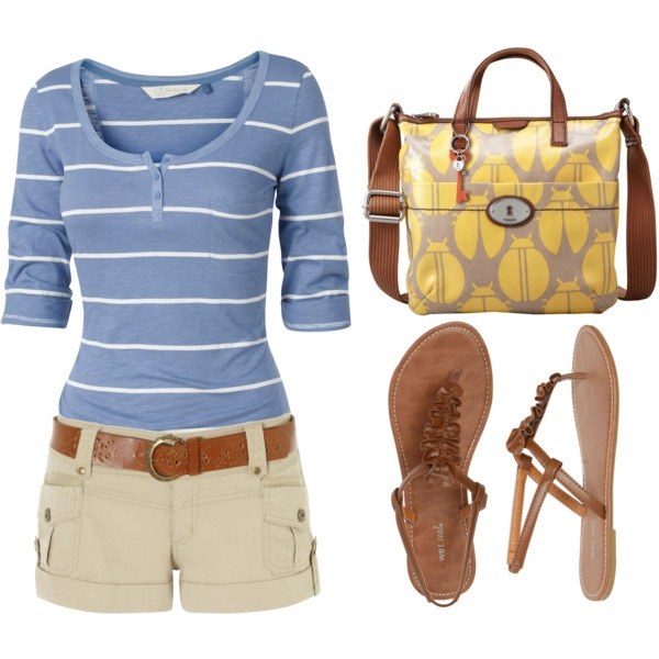 Affordable Summer Ensemble, created by styleofe.polyvore.com