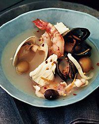 Ligurian Seafood Soup