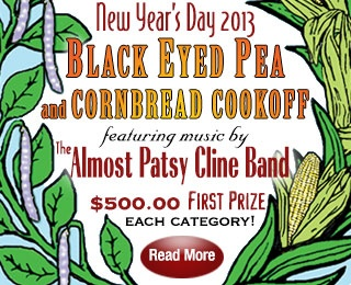 Black Eyed Pea & Cornbread Cookoff : New Year's Day 2013 ...