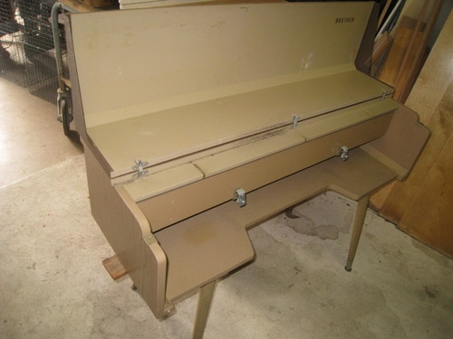 knitting machine stand table
