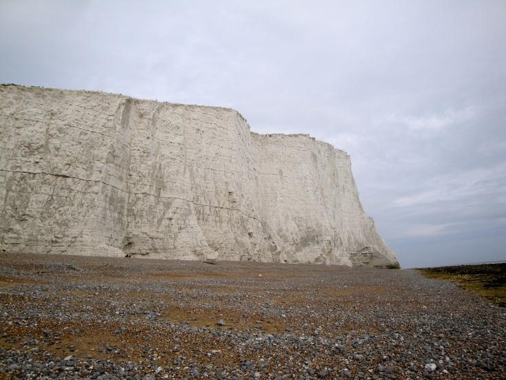 d day beach cliffs