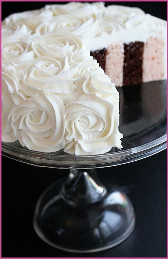 dream wedding cake frosting | Recipes-Cakes | Pinterest