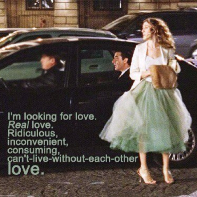 """sex and the city quotes about finding love Looking for relationship quotes to express your love """"we come to love not by finding a perfect person, but by learning to see an imperfect sex and the city."""