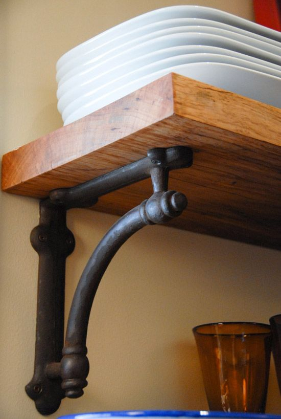 Shelf Bracket Decor Pinterest