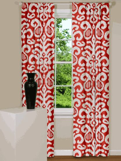 Red Curtain Ideas For Living Room Dark Red Curtains Livin
