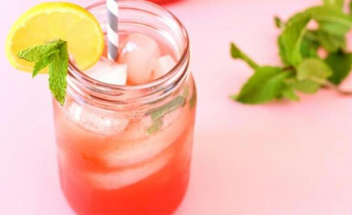 Watermelon mint lemonade | drinks | Pinterest