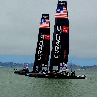 Aug 22 ~ Team Oracle USA! San Francisco ~ Marina view:)