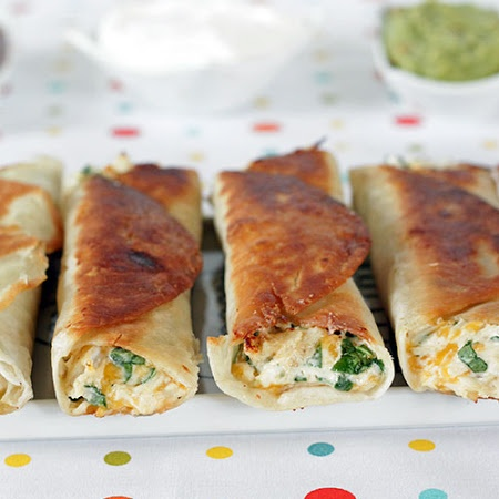 Chubby Chicken and Cream Cheese Taquitos | main dishes | Pinterest