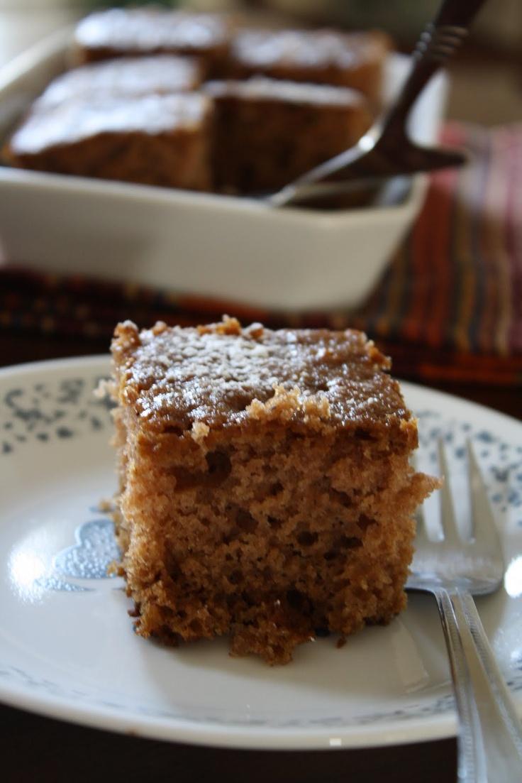 Sourdough Applesauce Spice Cake | Food & Drink | Pinterest
