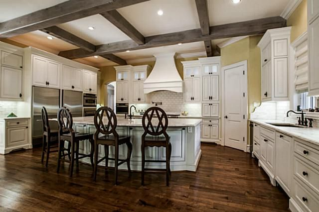 Spared when creating these custom wood kitchen cabinets dallas tx