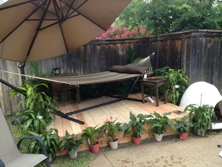 Best Backyard Hammock : Backyard hammock  For the Home  Pinterest