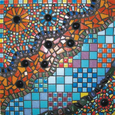 Abstract Wall Hanging | Art Mosaic Wonderland | Pinterest