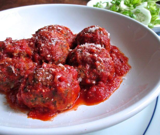 Summer Entertaining Toolkit: Saucy Pork Meatballs (http://blog.hgtv.com/design/2014/05/29/saucy-pork-meatballs-recipe/?soc=pinterest)