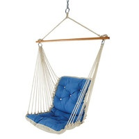 Double Single Person Camping Swing Hanging Hammock Canvas Chair Garden ...