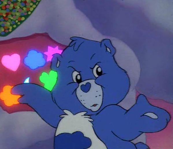 Grumpy Bear - Care Bear Wiki | Care Bears | Pinterest