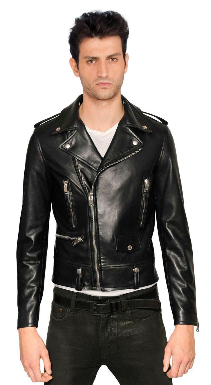 Leather Biker Jackets For Men