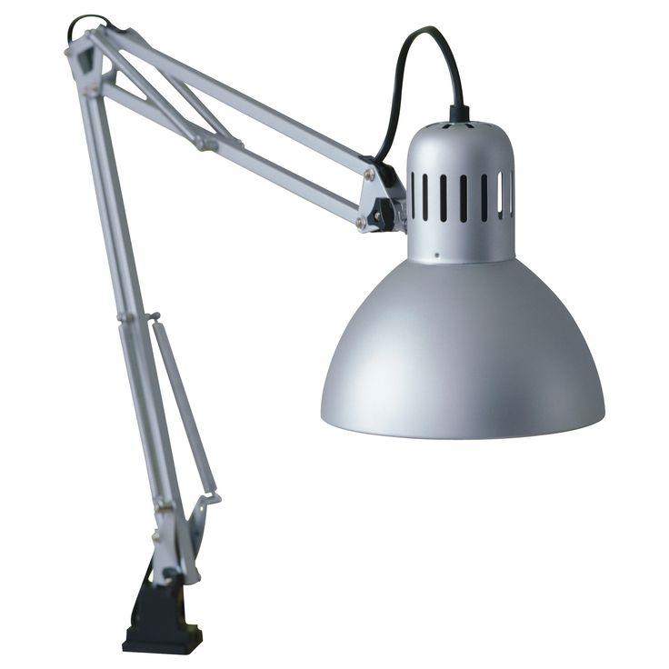 Tertial work lamp silver color