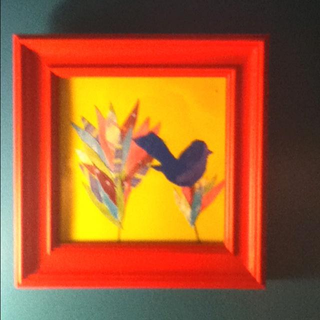 1 of 3 in my bathtoom trio paintings