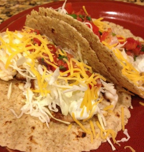 Blackened Fish Tacos - This Gal Cooks