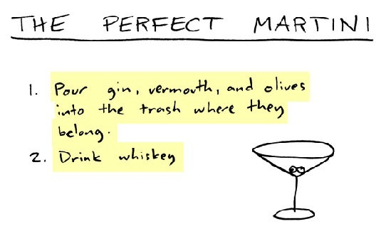 The Perfect Martini. Can't argue. | Made Me Laugh | Pinterest