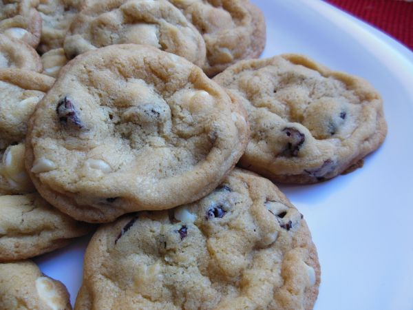 Cranberry White Chocolate Macadamia Nut Cookie
