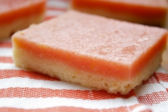 pink lemonade bars | Delicious Food | Pinterest