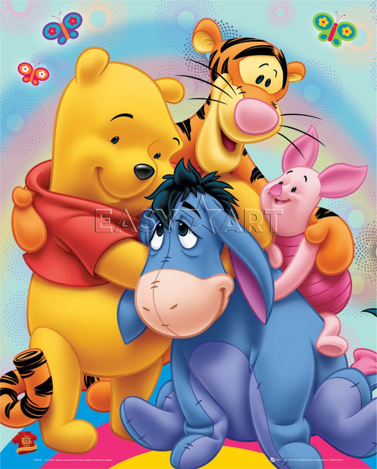 Winnie The Pooh Characters Represent Mental Disorders Winnie-the-pooh ...