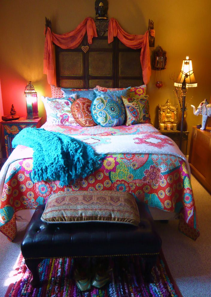 My boho bedroom almost finished solace pinterest for Bohemian bedroom ideas pinterest