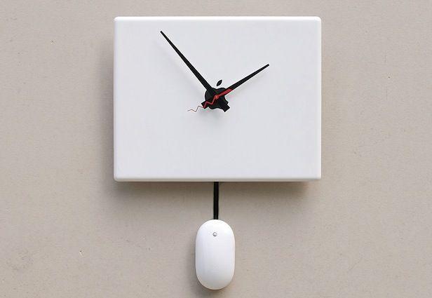 Laptop Clock!
