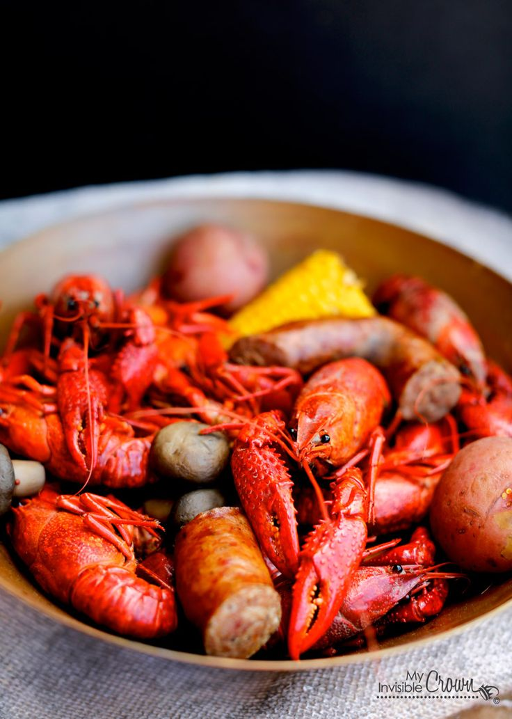 Crawfish Boil | Under the Sea | Pinterest