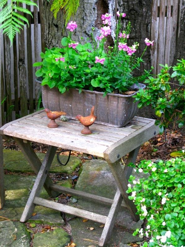 Garden Vignette Outdoor Ideas Pinterest