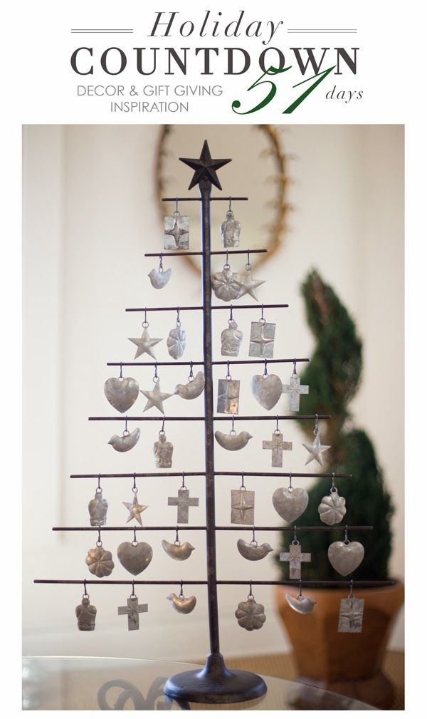 ... Countdown Home Decor and Gift Giving Inspiration, Milagro Tree, Santa
