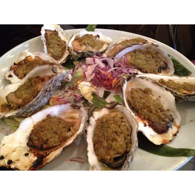 Baked Oysters   Food & Drinks   Pinterest