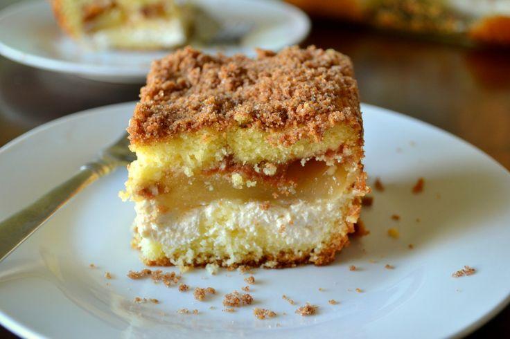 Apple Cream Cheese Coffee Cake - coffee cake mix (with cinnamon ...