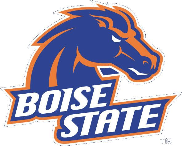 Boise State University-won't be long until you return for another semester!  proud of you!