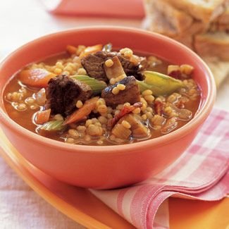 Beef-Barley and Root Vegetable Stew - Good Housekeeping