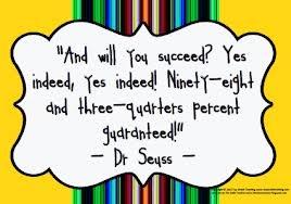 Dr. Seuss - slowlygrowingbetter.blogspot.com