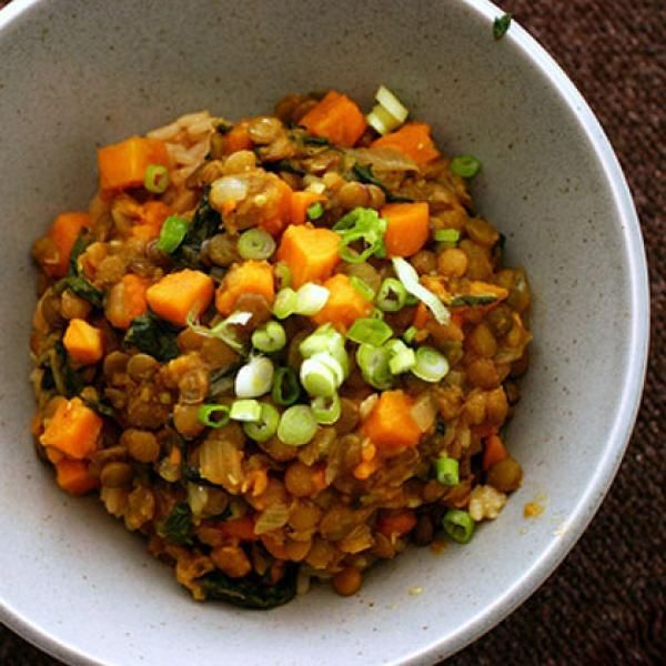 : Curried Lentils and Sweet Potatoes - Healthy Recipes: Sweet Potato ...