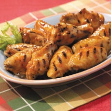 Maple-bourbon Glazed Chicken Wings | Favorite Recipes | Pinterest