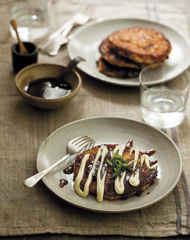 Okonomiyaki. These Japanese pancakes are a licence to go wild: okono ...