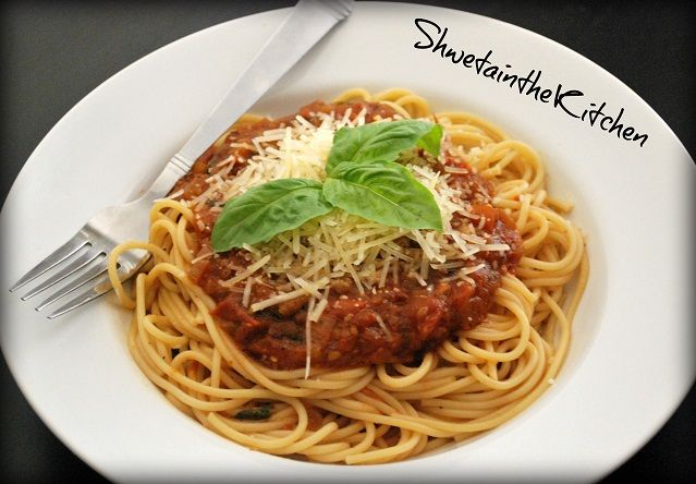 Spaghetti with Marinara sauce | Food & Cooking | Pinterest